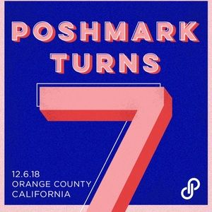 Poshmark turns 7 celebration 🍾🎉